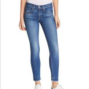 rag & bone Ankle Skinny Released Hem Blair Jeans